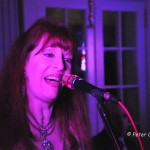 """Eight to the Bar's"" Founder and Leader, Cynthia Lyon, performing at Guilford's 375th Anniversary Crystal Ball, Pine Orchard Club, Branford, CT"
