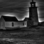 Monhegan Light at pre-dawn, ME