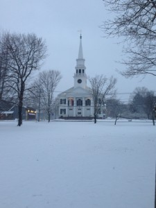 The Congregational Church at the Top of Guilford's Green- 2015 Jan 4
