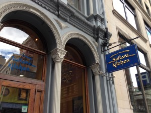 Welcome to the Sultan's Kitchen, 116 State Street, Boston