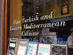 Recognized as a gem in Boston for Turkish food