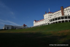 Sunrise at the Mount Washington Hotel