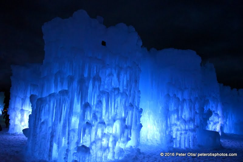 Ice Castle NH- softened by recent rains